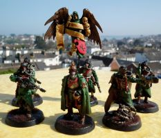 DEATH KORPS OF KRIEG COMMAND SQUAD by Graywolf-101