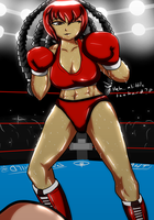 You vs. Contessa KO LOSE By Shaozchampion by MasterSaruwatari