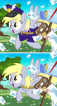 Derpy Mail Mare CCG Card by PixelKitties