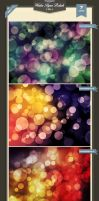 Water Paper Bokeh Backgrounds by baturaN
