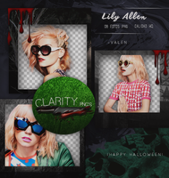 Pack png 726: Lily Allen. by Clarity-pngs