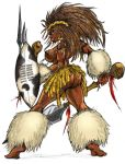 African Warrior Princess by faserspitze