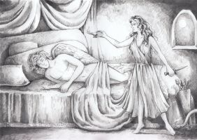 Eros and Psyche by AnotherStranger-Me