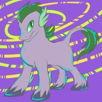Spike the pony by LouiseWeird