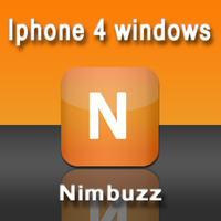 iphone 4 windows - Nimbuzz by skater-andy