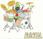drummer marvin by puka23