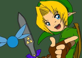 Link - Colored by Jeako