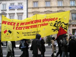 an another leftist banner by 13VAK