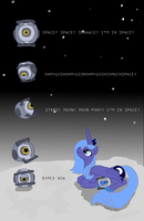 Moon Time Out by bibliodragon