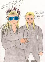 Thranduil's New Shades (colored) by luvaddict77