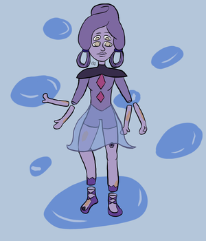 Charoite by Sugarhoneymouse