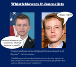 Whistleblowers and Journalists by IAmTheUnison