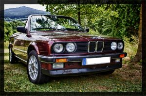 Old BMW Convertible by deaconfrost78