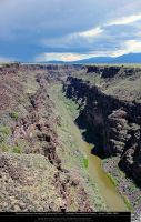 Rio Grande Gorge 11 by DamselStock