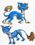 Lugou Adoptables 14 by TheSolitarySandpiper