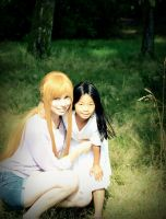 Asuna and Yui Cosplay - My Daughter... by UnisonCosplayers