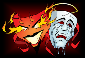 Comedy and Tragedy by woohooligan
