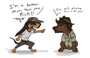 The Walking Derp by SoldierYena