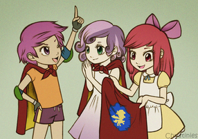 Cutie Mark Crusaders by Christinies