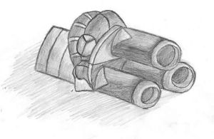 Zurgatronic ion cannon sketch by Xentralus