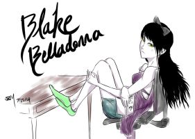 Blake Belladonna by A-SgtMichaels