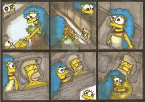 Marge Simpson - Bad Nightmare by ChnProd22