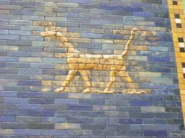 Mural 05 - Babylonian Art by Axy-stock