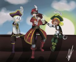 ANOTHER PIRATE101 DRAWING by Lucky-Rainbow