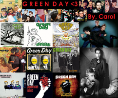 Green Day Stuff by songofhateanddeath