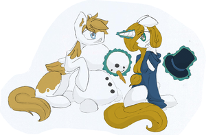 Do you want to build a snowman? by RosallieBroken