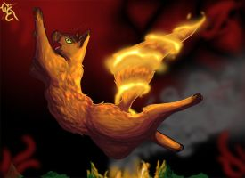 Element Warriors - Fireheart by WillowEscapee