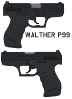 Walther P99 by bagera3005