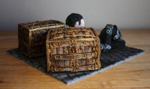 Gears of War Cake by KatesKakes