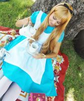 Welcome to the tea party! [Alice Cosplay] by SakuraPamyu