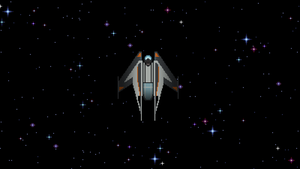Sci-fi game (Spaceship top view) by v1d3r