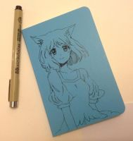 doodle on cover by PastelCake
