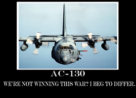 AC-130 Demotivational poster by wolf117M