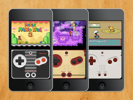 Game Boy Advance SP Skins for gpSPhone by jospinoj