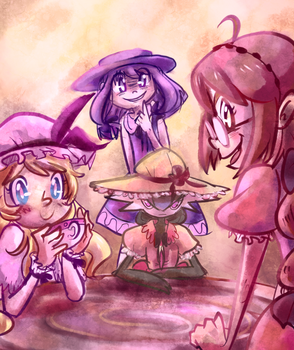Kittens, Cakes and Cotton Candy by Carminadelic