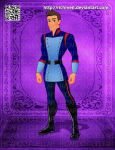 Gabe the Royal Guard Elena of Avalor by Richmen