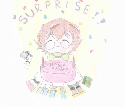 Surprise party for Pidge - Voltron LD by blairthewitchcat