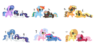 Shipping Adopts [8/12 LEFT] [LOWERED PRICES] by MargaretLovez