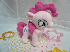 Filly Pinkie Pie Plush by navkaze