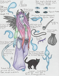 Neith reference sheet by Bloodcat101