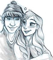 Frozen - Warm Smiles by Myed89