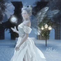 The Snow Fairy by Art-By-Mel-DA