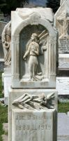 Mount Olivet Cemetery Angel 168 by Falln-Stock