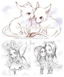 Chibi Sketch 2013 art by HASE by hase-illustration