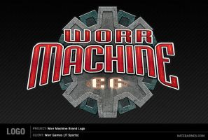 Worr Machine Logo by natebarnes