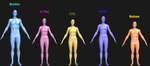 MK Body types experiment by Simony17y